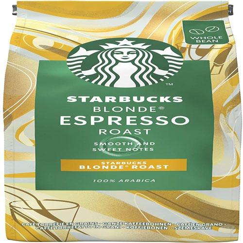 STARBUCKS BLONDE Espresso Roast Whole Coffee Bean 200g 12400226