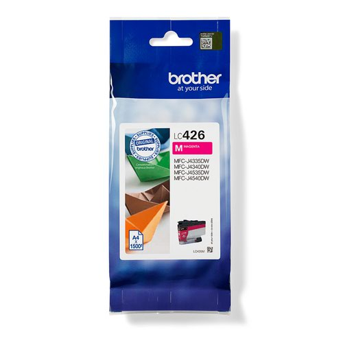 Brother Magenta Standard Capacity Ink Cartridge 1.5K pages - LC426M