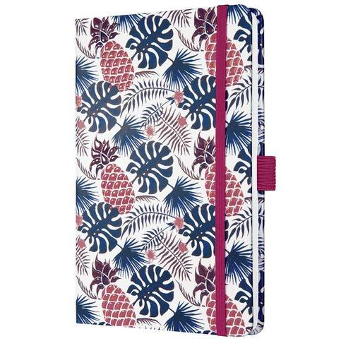 Sigel Jolie Week to View Diary 2022 Hardcover Tropic Blue J2317