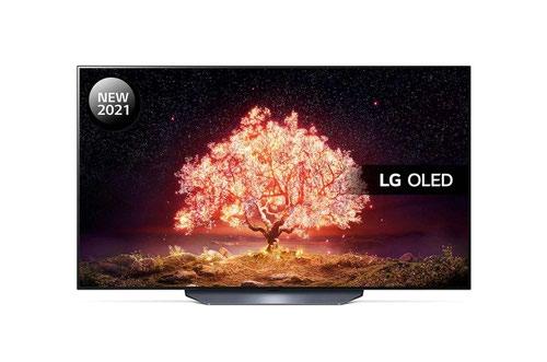 LG B1 OLED55B16LA 55 Inch 3840 x 2160 4K Ultra HD Resolution IQ HDR10 OLED Smart TV Black