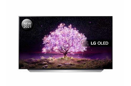 LG C1 OLED55C16LA 55 Inch 3840 x 2160 4K Ultra HD Resolution AI Sound Pro HDR10 OLED Smart TV Vanilla White