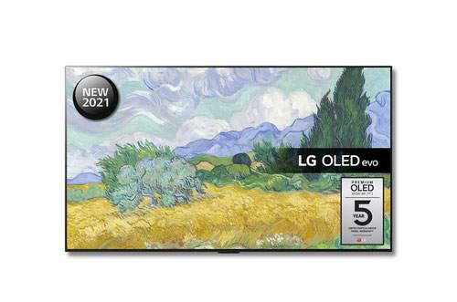 LG G1 OLED55G16LA 55 Inch 3840 x 2160 4K Ultra HD Resolution HDR OLED Smart TV with Google Assistant and Amazon Alexa