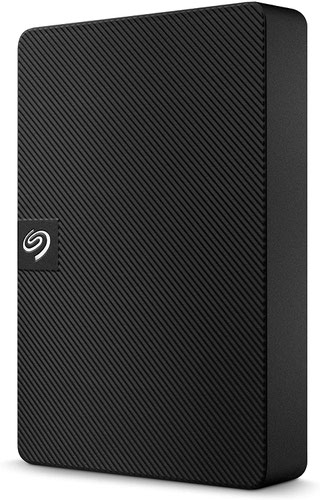 Seagate 2TB Expansion Portable 2.5 Inch USB 3.0 Black External Hard Disk Drive for Mac and PC with Rescue Services