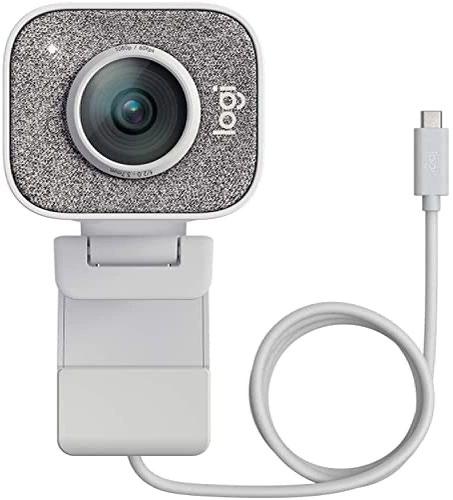 Logitech StreamCam 60fps USB3.2 Gen1 1920 x 1080 Resolution Webcam Off White