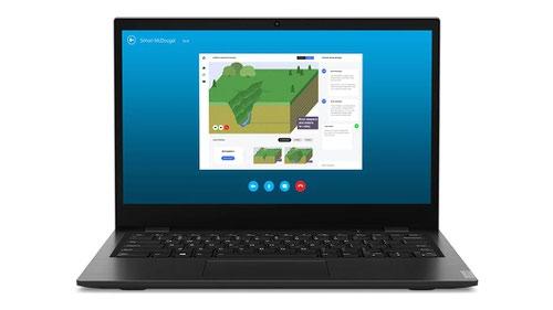 Lenovo 14w 14 Inch 7th Generation AMD A6 9220C APUs 4GB RAM 64GB eMMC WiFi 5 802.11ac Windows 10 Pro Academic Black Notebook