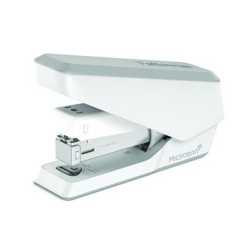 Fellowes LX840 Half Strip Stapler White 5011701