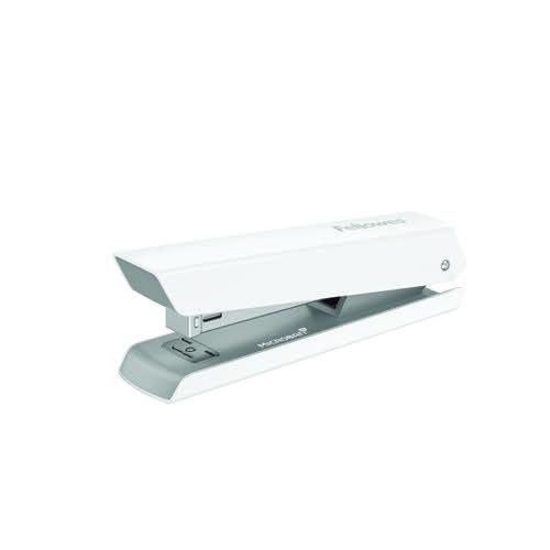 Fellowes LX820 Full Strip Stapler White 5011101