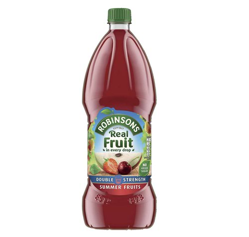 Robinsons Double Concentrate Summer Fruits 1.75L (Pack 2)DD 0402090