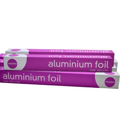 Maxima Aluminium Foil 500mm x 75m  0505005