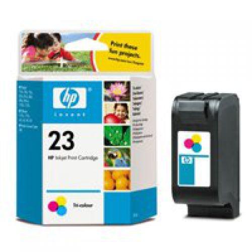 HP 23 Inkjet Cartridge Page Life 620pp Colour C1823DE