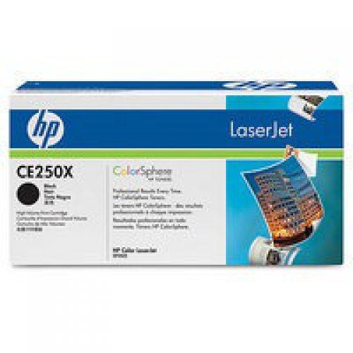 HP CE250X 504X Black Toner 10.5K