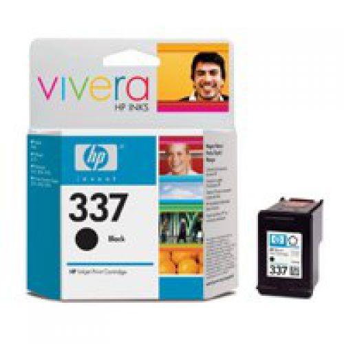 HP 337 Black Standard Capacity Ink Cartridge 11ml - C9364E