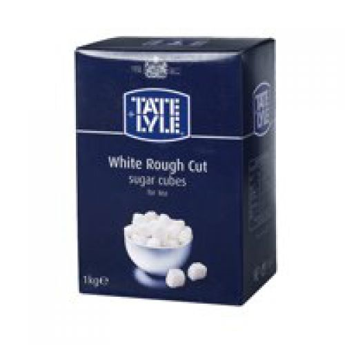 Tate and Lyle White Rough-Cut Sugar Cubes 1kg