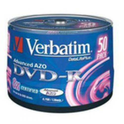 Verbatim DVD-R Non Printable Spindle of 50