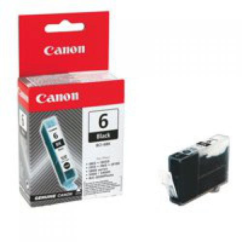 Canon 4705A002 BCI6 Black Ink 13ml
