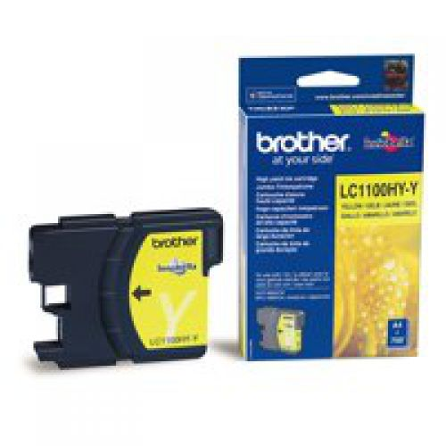 Brother LC1100HYY Yellow Ink 10ml