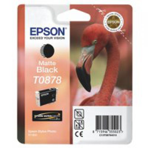Epson C13T08784010 T0878 Matte Black Ink 11ml