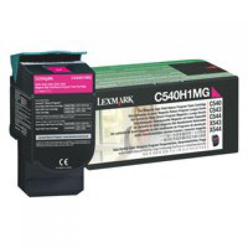 Lexmark C540H1MG Magenta Toner 2K
