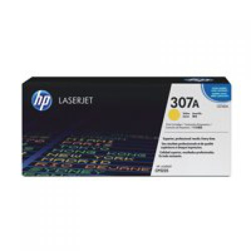 OEM HP CE742A Yellow 7000 Pages Original Toner
