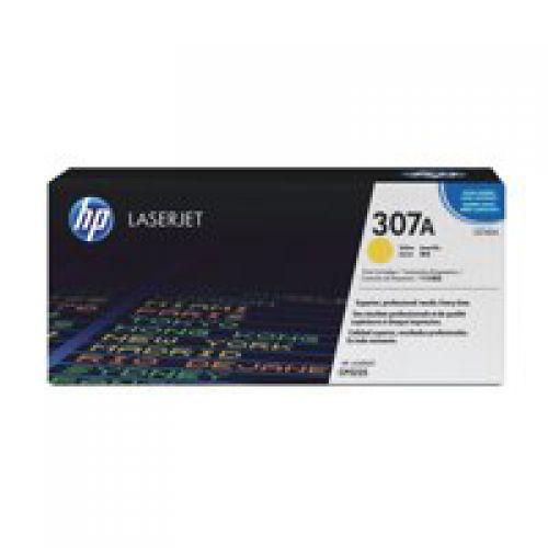 HP CE742A 307A Yellow Toner 7.3K