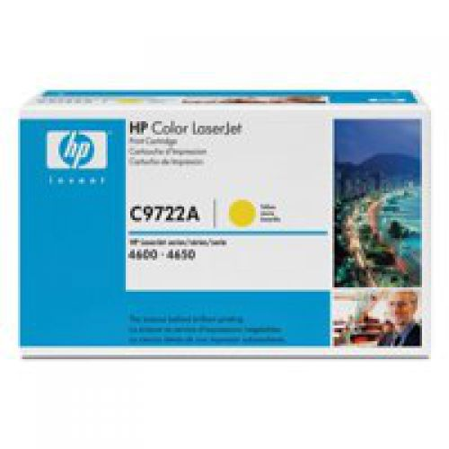HP C9722A 641A Yellow Toner 8K