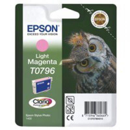 Epson C13T07964010 T0796 Light Magenta Ink 11ml
