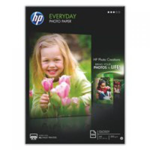 HP Everyday Photo Paper Semi-glossy 200gsm A4 Q2510A [100 Sheets]