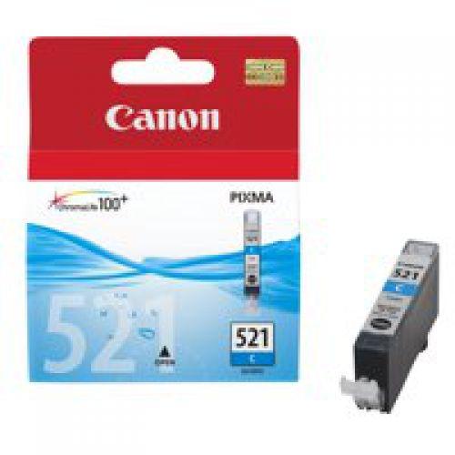 Canon Ink Cartridge Cyan CLI521C