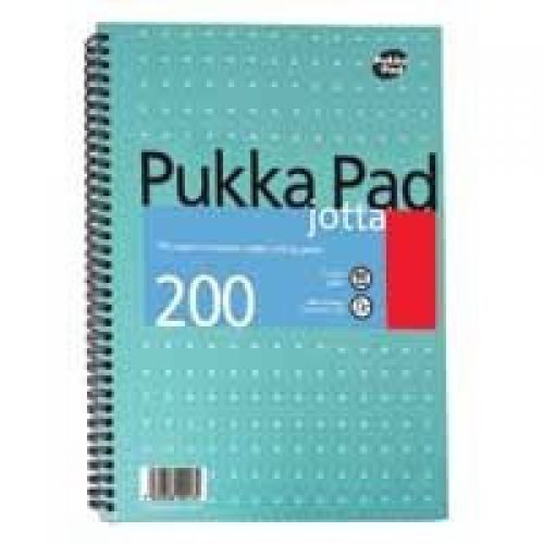 Pukka Pad A5 Jotta Pad Ruled 200 Page Metallic PK3