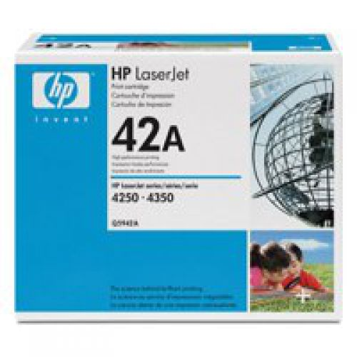 HP Q5942A 42A Black Toner 10K