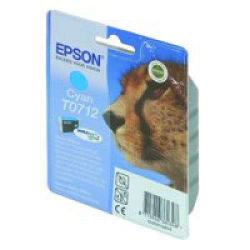 Epson Durabrite Inkjet Cartridge Cyan T07124010