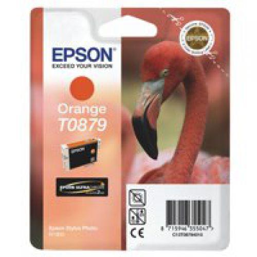 Epson C13T08794010 T0879 Orange Ink 11ml
