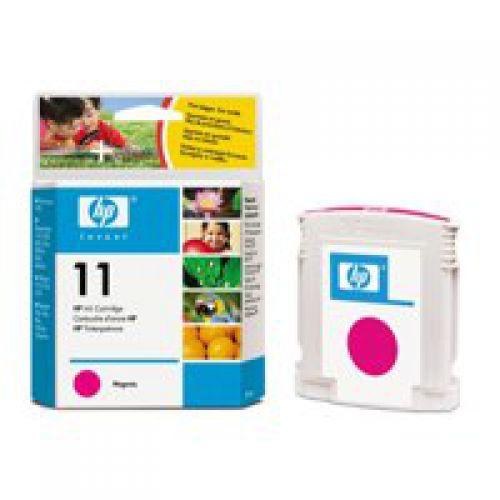 HP 11 Magenta Standard Capacity Ink Cartridge 28ml - C4837A