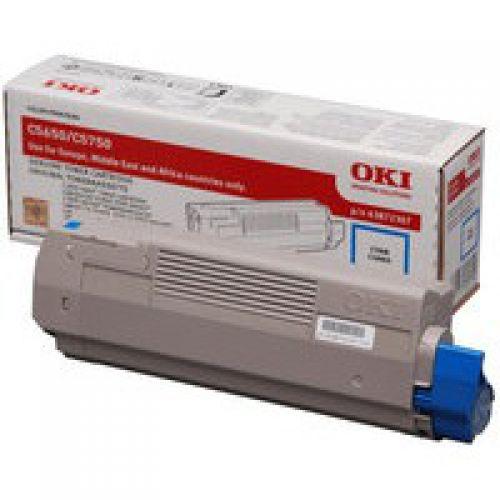 OKI 43872307 Cyan Toner 2K