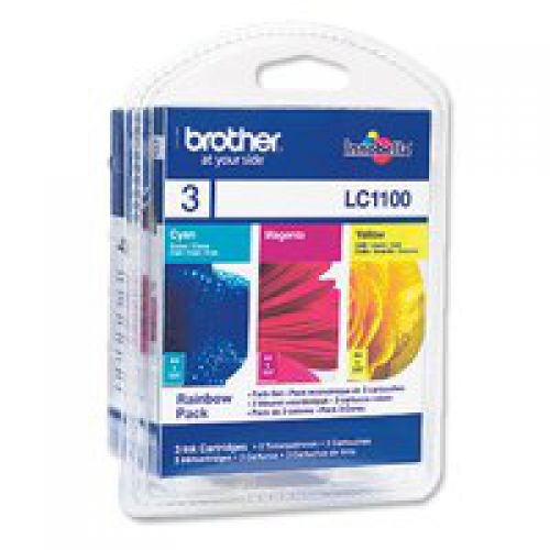 Brother LC1100RBWBP Colour Ink 3x6ml Multipack