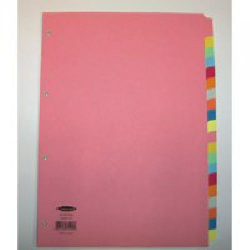 Concord A4 20 Part Pastel Divider