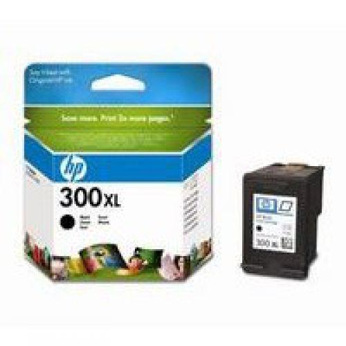 HP 300XL Black Standard Capacity Ink Cartridge 12ml - CC641EE