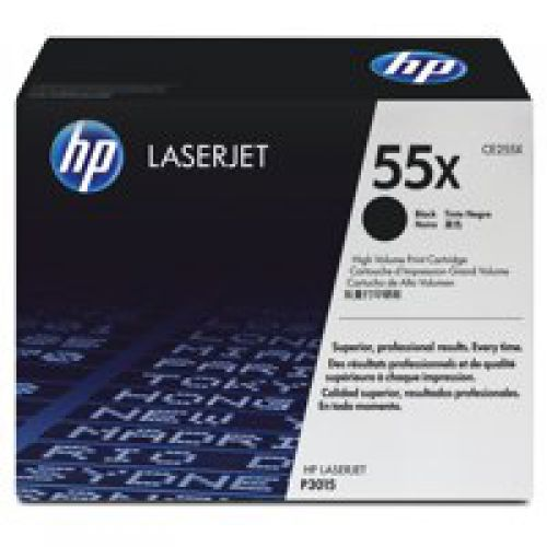 OEM HP CE255X Black 12500 Pages Original Toner