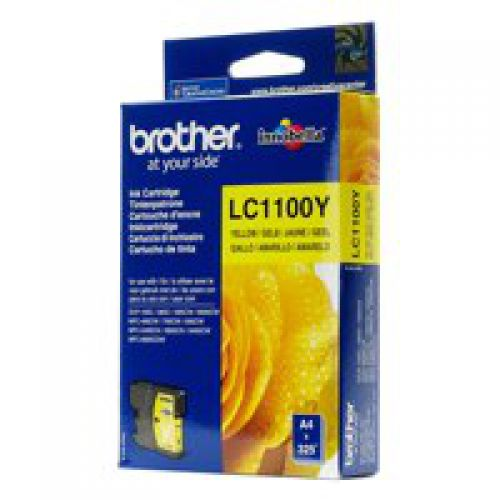 Brother LC1100Y Yellow Ink 6ml