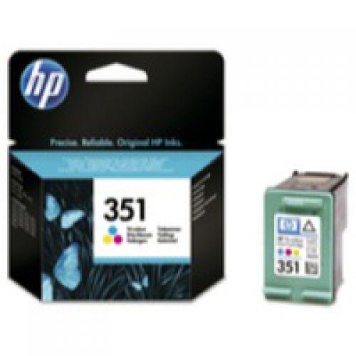 HP 351 Tricolour Standard Capacity Ink Cartridge 4ml - CB337E