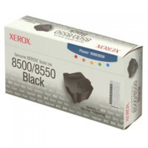 Xerox 108R00726 (Yield: 3,400 Pages) Black Solid Ink Sticks Pack of 3