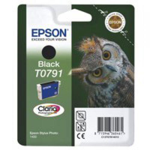 Epson C13T07914010 T0791 Black Ink 11ml