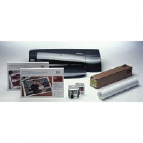HP Bright White Inkjet Paper Roll 90gsm 841mm x 45.7m White Q1444A