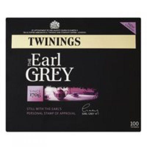 Twinings Earl Grey Tea Bags A00801 [Pack 100]