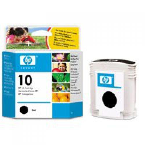 HP 10 Black Standard Capacity Ink Cartridge 69ml - C4844A