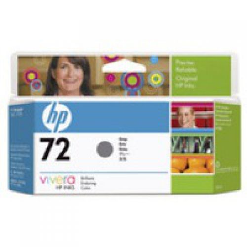 HP 72 Grey Standard Capacity Ink Cartridge 130ml - C9374A