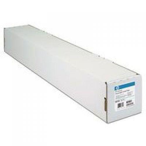 HP Bright White Inkjet Paper Roll 90gsm 594mm x 45.7m White Q1445A
