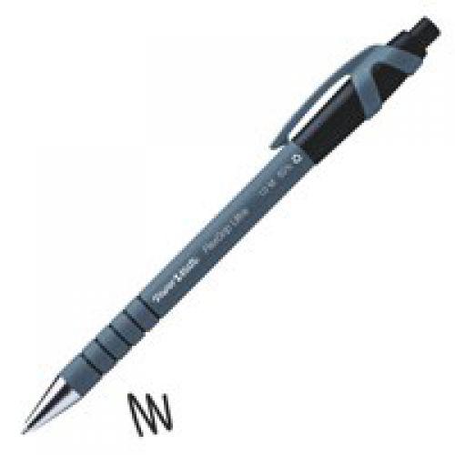 Paper Mate Flexgrip Ultra Medium Tip 1.0 mm Black Ink PK12