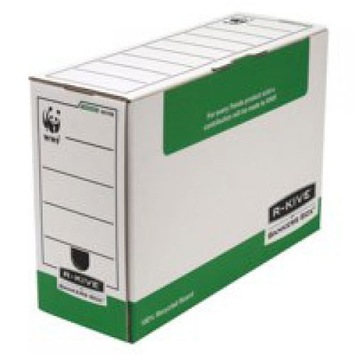 Fellowes System 120mm Folio Trans File Green PK10