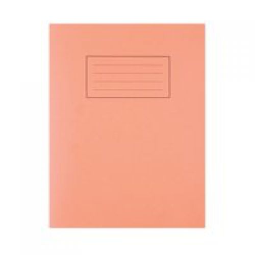 Silvine 9x7 Exercise Book 5mm Square Orange PK10